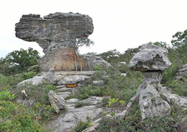 ลานหินงาม ที่ อุทยานแห่งชาติป่าหินงาม
