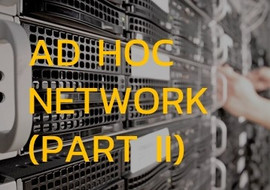 Ad hoc Network (Part II) : Proactive Routing Protocol concep ... รูปภาพ 1