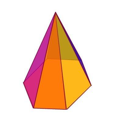 พีระมิดฐานหกเหลี่ยม